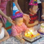 Tiệc sinh nhật tháng 4